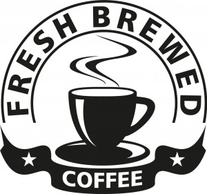 Naklejki do kuchni Fresh Brewed Coffee