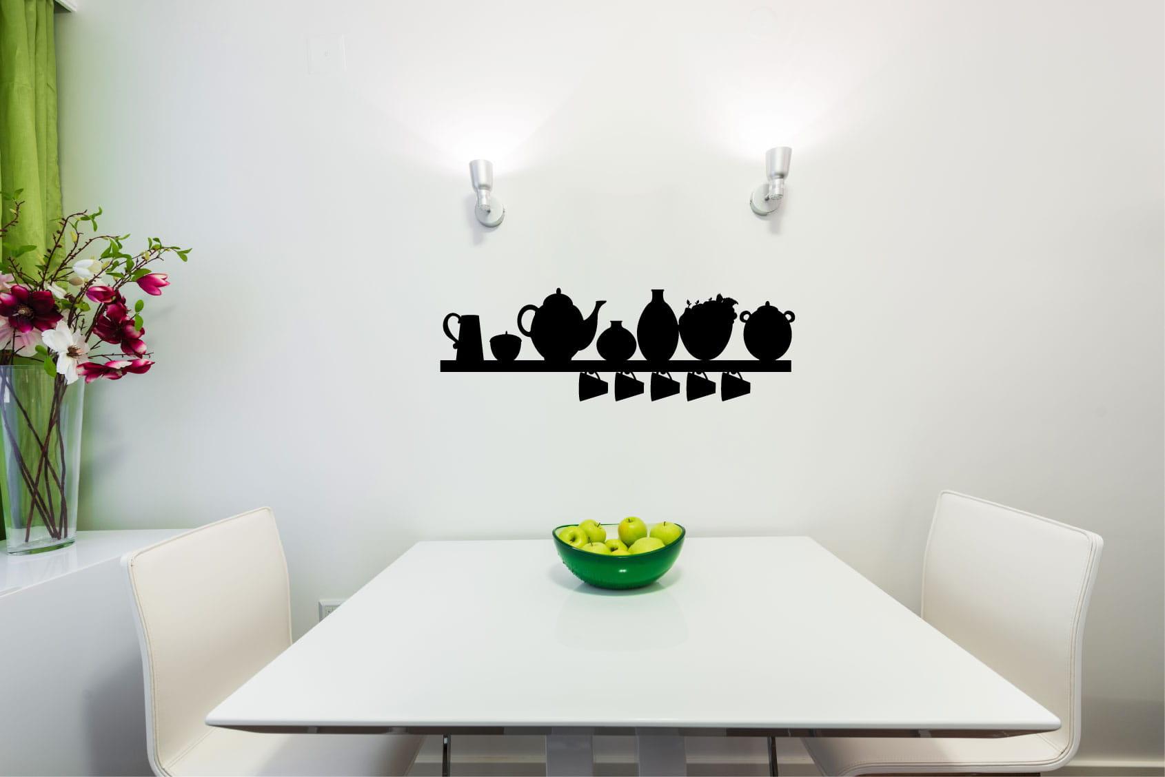 Naklejka Na ścianę Do Kuchni 185 Sklep Z Naklejkami Kuźnia Grafiki